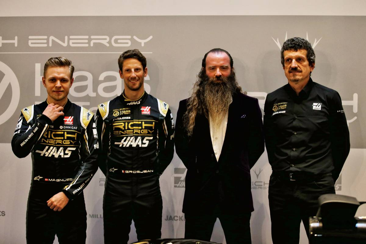 Haas cuts ties with Rich Energy