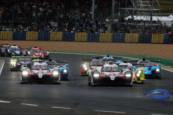 24 Hours of Le Mans 2019: Race start
