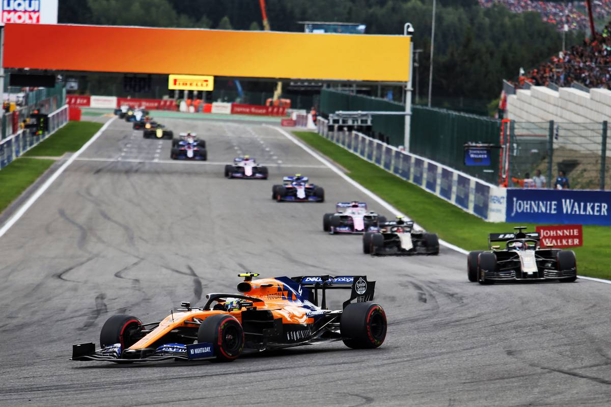 Lando Norris left frustrated by final-lap mechanical failure at Belgian GP