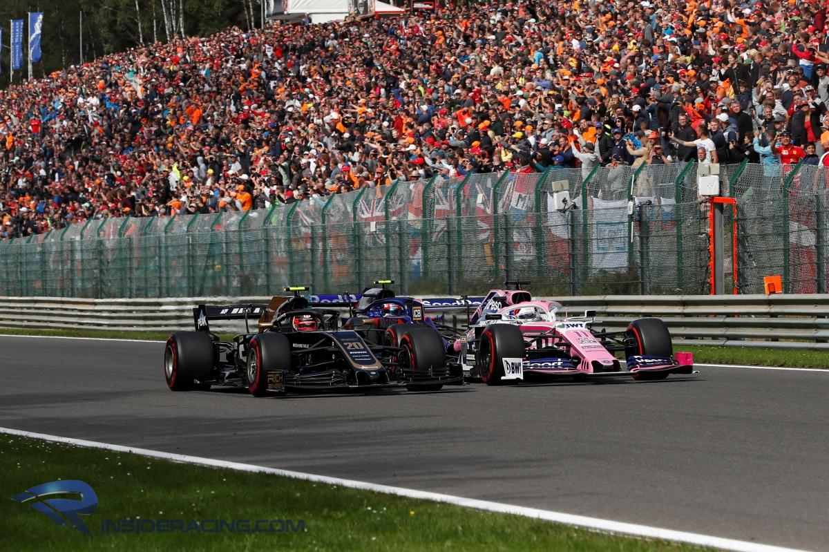Haas 'overtaken by everybody' during the Belgian GP