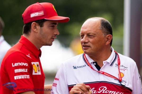 Vasseur: Leclerc '200 per cent' deserves his success at Ferrari