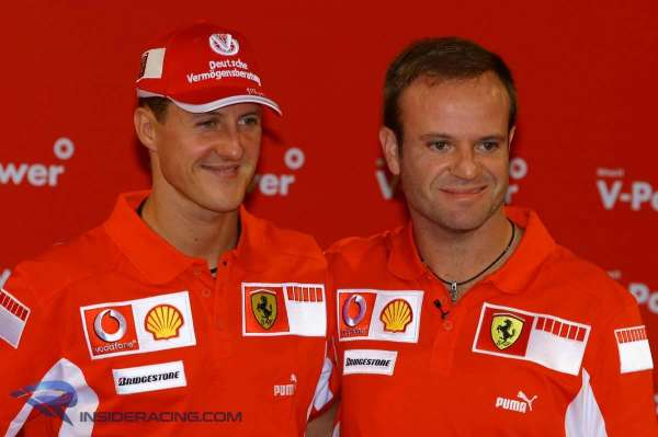 Barrichello reflects on 'courageous' but selfish Schumacher