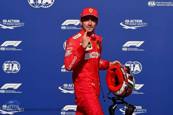 Prost on Leclerc's first season with Ferrari: 'That kid has guts!'