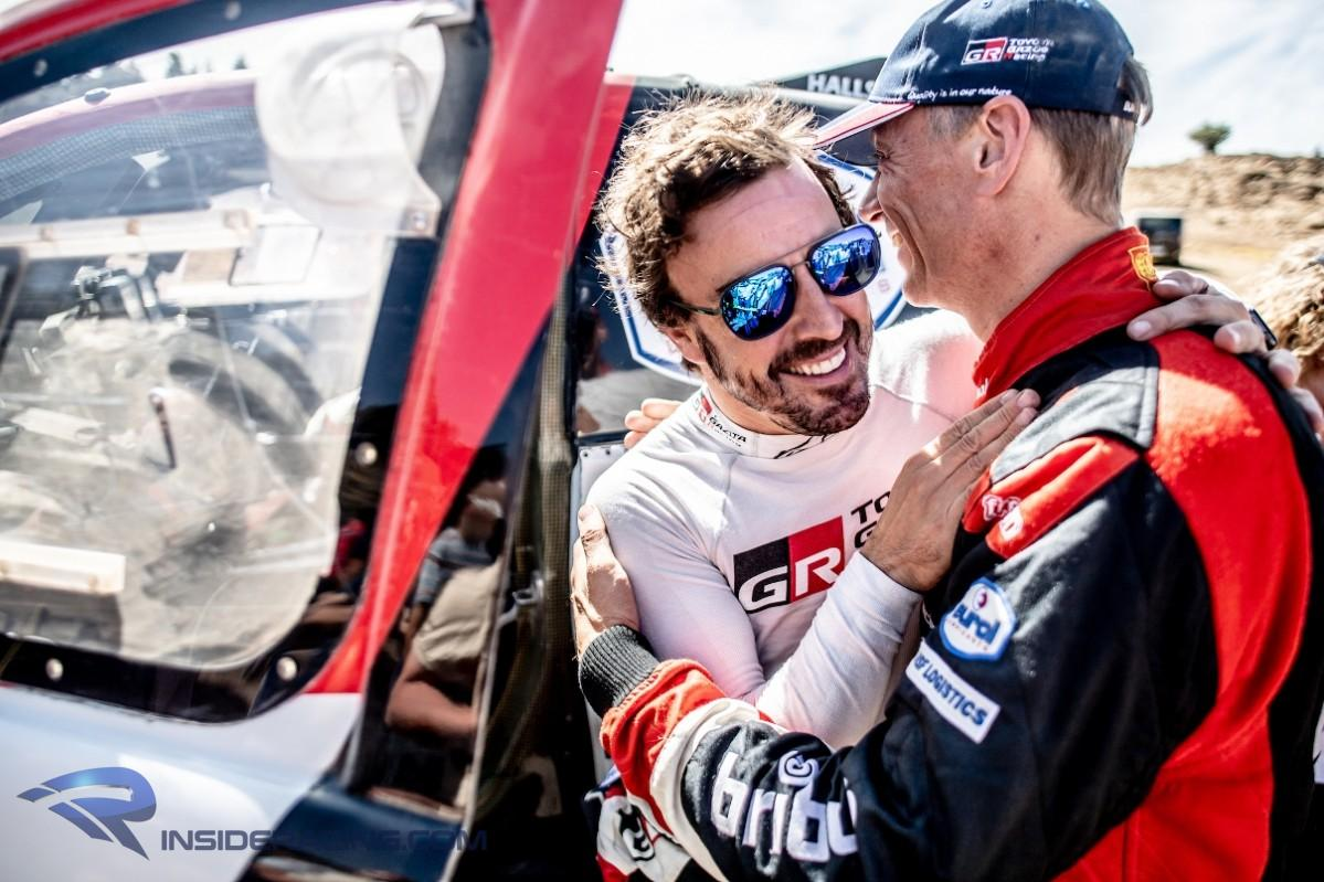 Official Alonso To Enter 2020 Dakar Rally With Toyota