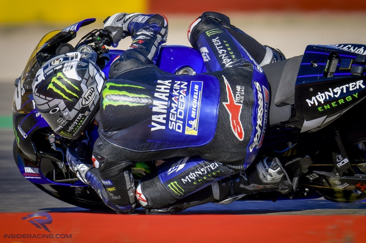 Maverick Vinales was the top Yamaha on Friday and within a couple of tenths of the top