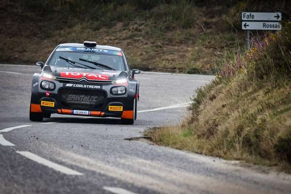 Lukyanuk the driver to beat come rain or shine in Rally Fafe