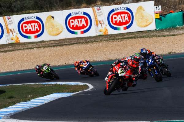 Davies sign off from factory Ducati seat with thrilling Estoril Race 2 victory