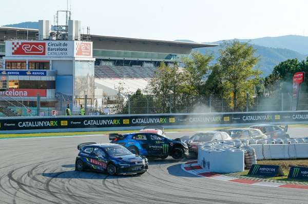 Johan Kristoffersson claims victory at World RX of Catalunya