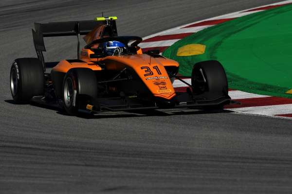 Nannini tops day 1 of post-season testing in Barcelona, ahead of Hughes