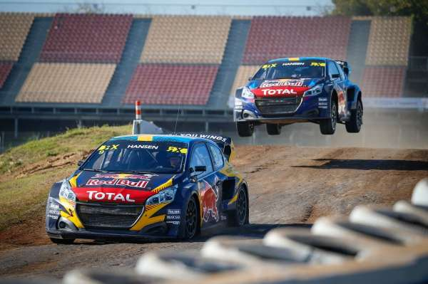 Timmy Hansen takes victory in Catalunya to become fourth 2020 World RX winner