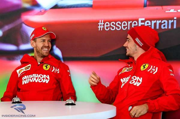 Leclerc: Working with Vettel has been a 'huge honour'