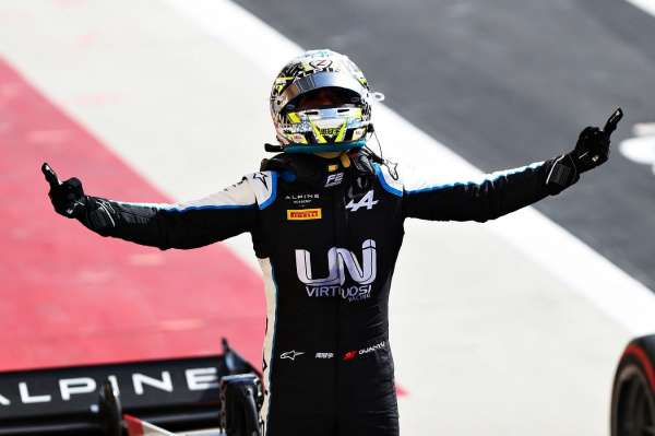Zhou fights to first Feature Race win with inspired performance in Sakhir