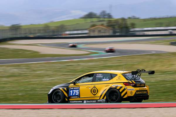 NKPP Racing by Bas Koeten Racing holds narrow TCE lead at 12H MUGELLO