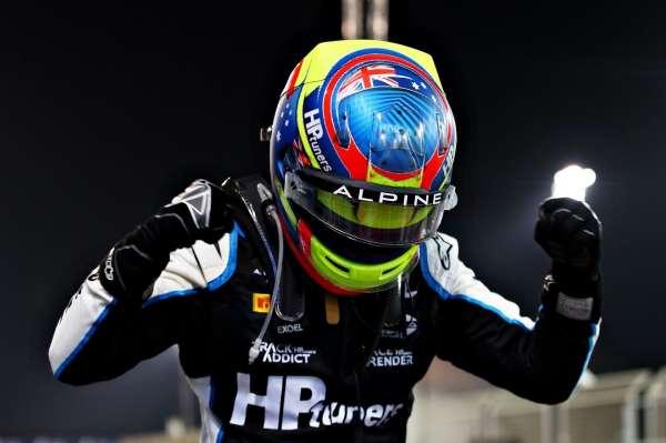 Piastri pulls off masterclass in Sakhir to take maiden F2 win over Lundgaard