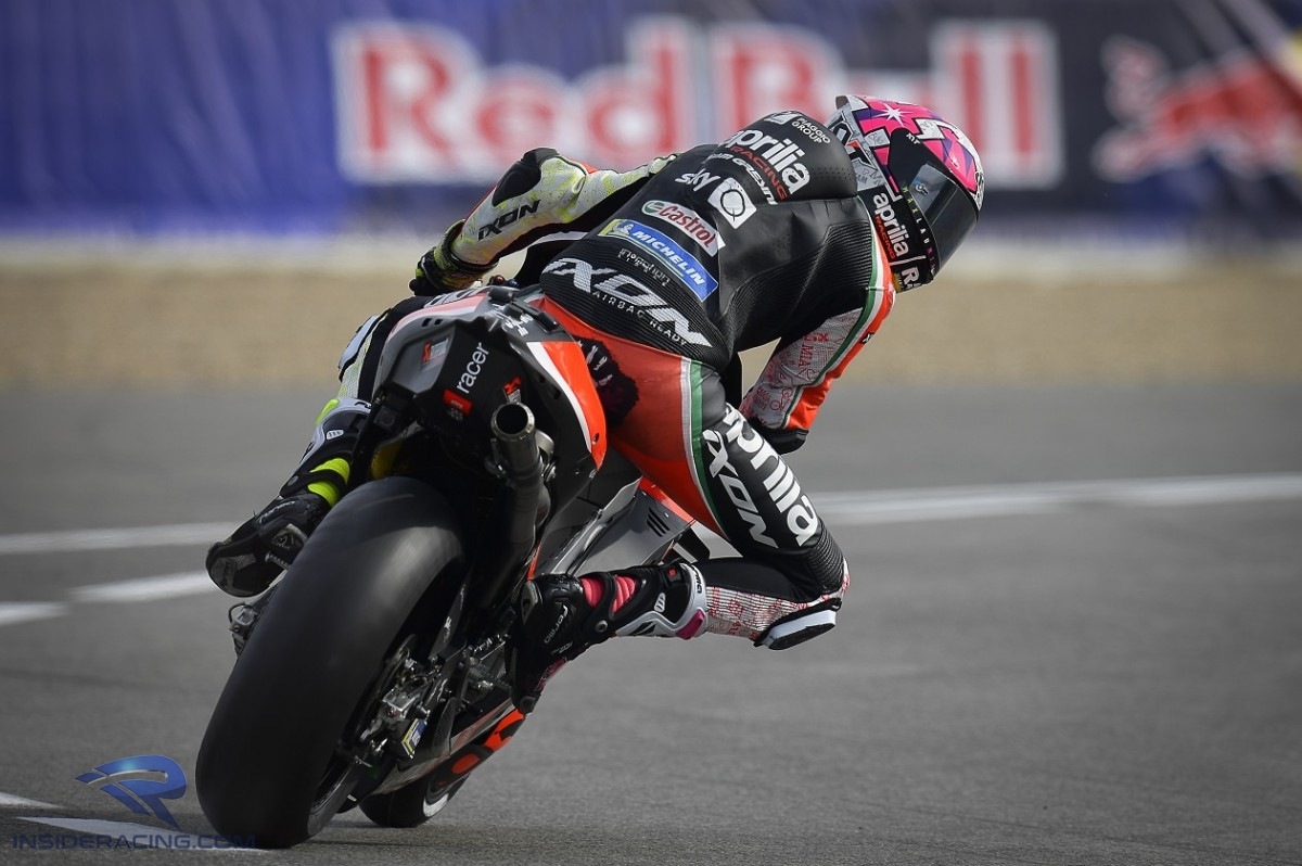 Aleix Espargaro and Aprilia continued their form